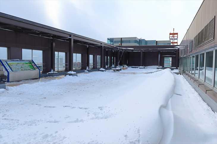 札幌市役所19階 展望回廊