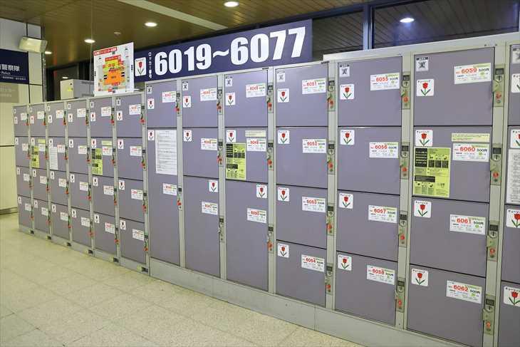 札幌駅のコインロッカー