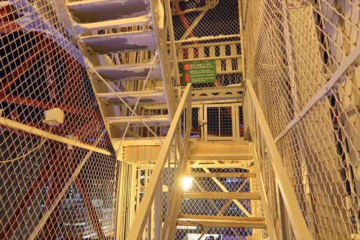 さっぽろテレビ塔の階段