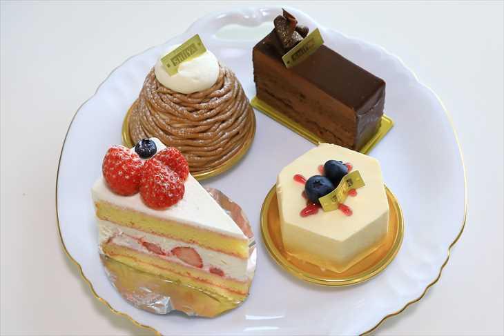 パティスリーシイヤのケーキ